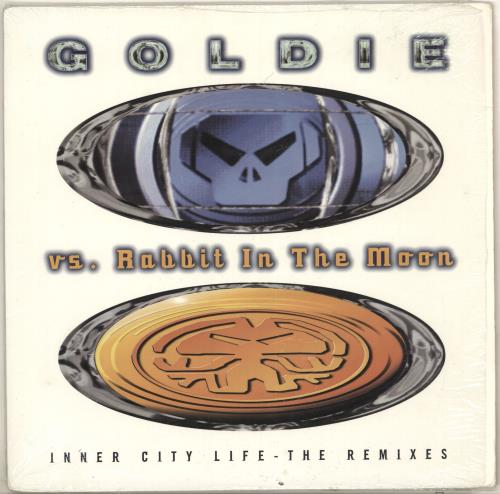 "Goldie (90s) Inner City Life - The Remixes 12"" vinyl single (12 inch record / Maxi-single) US GOD12IN725103"