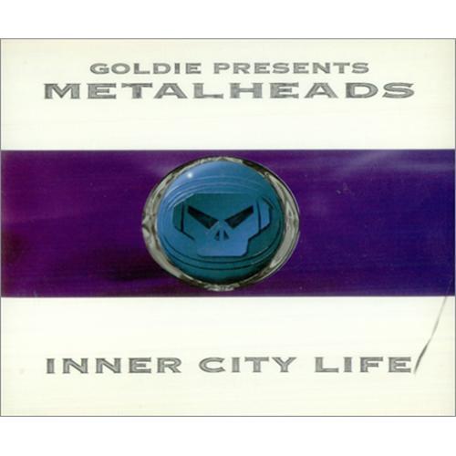 """Goldie (90s) Inner City Life CD single (CD5 / 5"""") UK GODC5IN55980"""