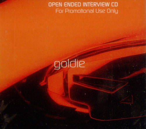 Goldie (90s) Open Ended Interview CD album (CDLP) UK GODCDOP105074