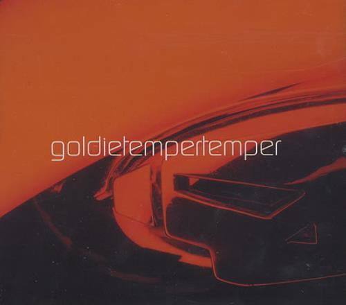 "Goldie (90s) Temper Temper CD single (CD5 / 5"") UK GODC5TE292770"