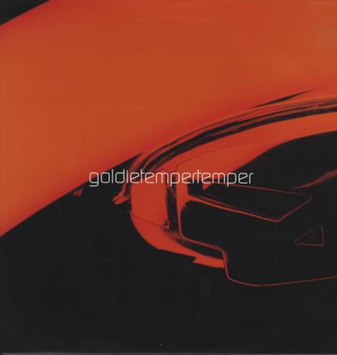 "Goldie (90s) Tempertemper 12"" vinyl single (12 inch record / Maxi-single) UK GOD12TE415086"