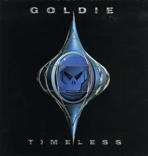 Goldie (90s) Timeless 2-LP vinyl record set (Double Album) UK GOD2LTI562188