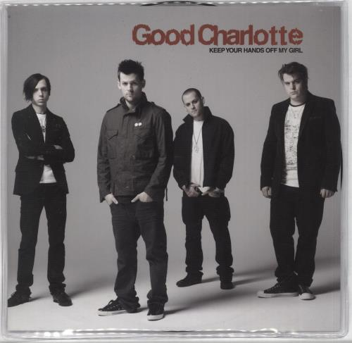 """Good Charlotte Keep Your Hands Off My Girl 7"""" vinyl picture disc 7 inch picture disc single UK GHL7PKE392087"""