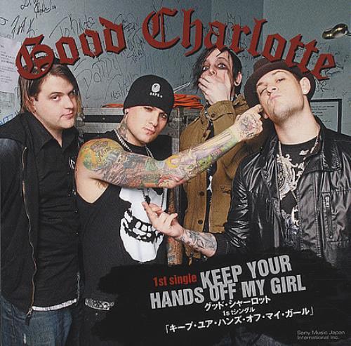 "Good Charlotte Keep Your Hands Off My Girl CD single (CD5 / 5"") Japanese GHLC5KE392567"
