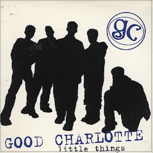 "Good Charlotte Little Things CD single (CD5 / 5"") US GHLC5LI352815"