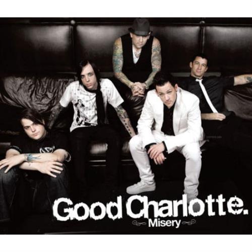 """Good Charlotte Misery CD single (CD5 / 5"""") Australian GHLC5MI421931"""