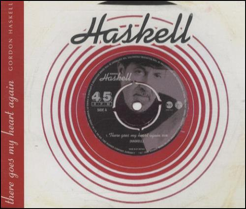 """Gordon Haskell There Goes My Heart Again CD single (CD5 / 5"""") UK GHKC5TH211891"""