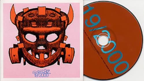 "Gorillaz 19/2000 Ninteen CD single (CD5 / 5"") Brazilian GLZC5NI205630"