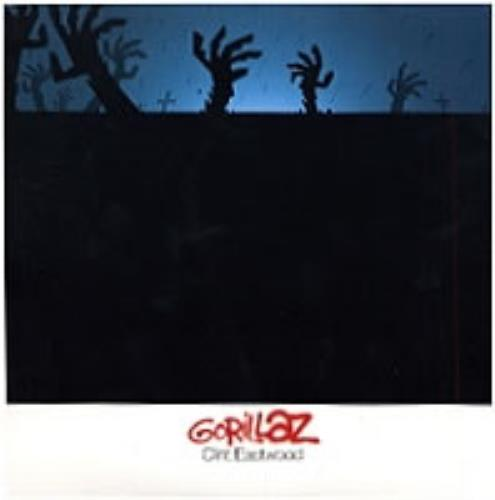 "Gorillaz Clint Eastwood CD single (CD5 / 5"") UK GLZC5CL178745"