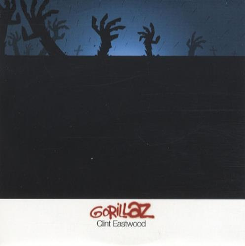 "Gorillaz Clint Eastwood CD single (CD5 / 5"") UK GLZC5CL179472"