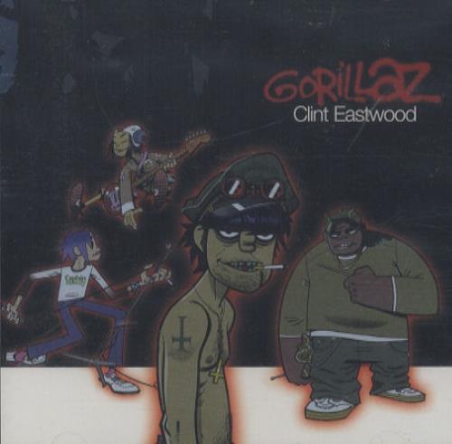 "Gorillaz Clint Eastwood CD single (CD5 / 5"") US GLZC5CL197913"