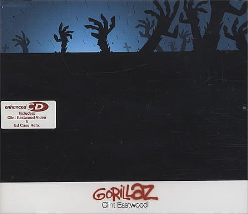 "Gorillaz Clint Eastwood CD single (CD5 / 5"") UK GLZC5CL388349"
