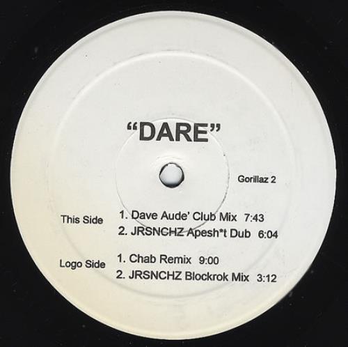 Gorillaz Dare - Double pack US Promo 12