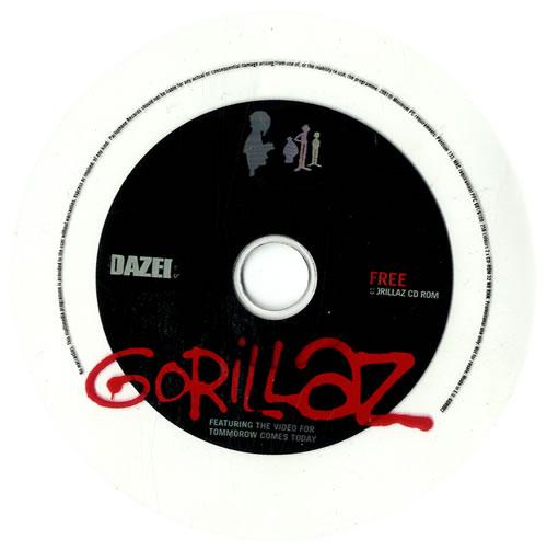 Gorillaz Dazed CD Rom CD-ROM UK GLZRODA221984