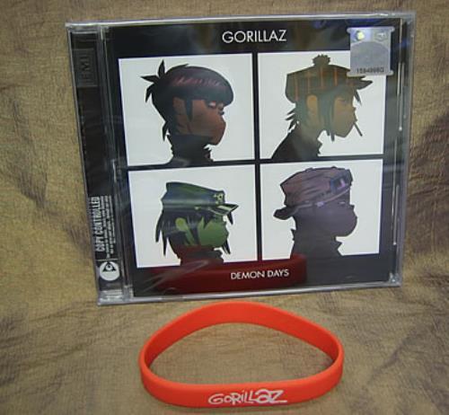 Gorillaz Demon Days Malaysia Cd Album Cdlp 346393