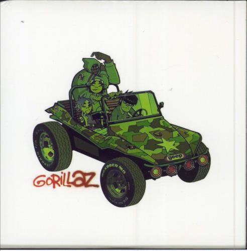 "Gorillaz Dracula CD single (CD5 / 5"") French GLZC5DR203755"