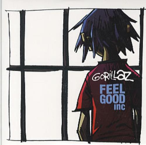 "Gorillaz Feel Good Inc CD single (CD5 / 5"") Mexican GLZC5FE326644"