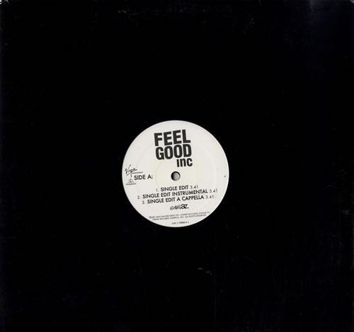 Gorillaz Feel Good Inc US Promo 12