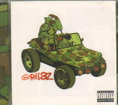 Gorillaz Gorillaz CD album (CDLP) UK GLZCDGO178635