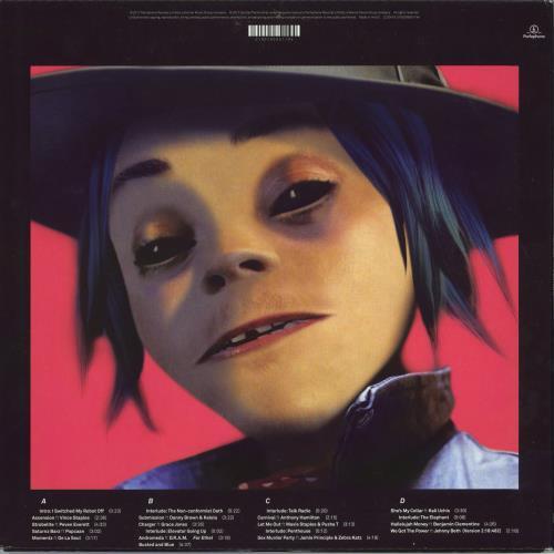 Gorillaz Humanz - 180gm 2-LP vinyl record set (Double Album) UK GLZ2LHU770917