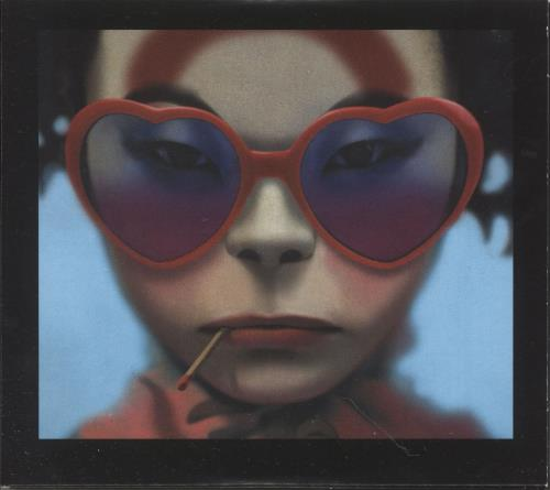 Gorillaz Humanz: Deluxe Edition 2 CD album set (Double CD) UK GLZ2CHU747012