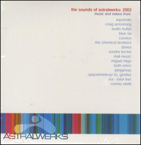Gorillaz Lil' Dub Chefin' - on Sound Of Astralwerks 2002 CD album (CDLP) US GLZCDLI228892