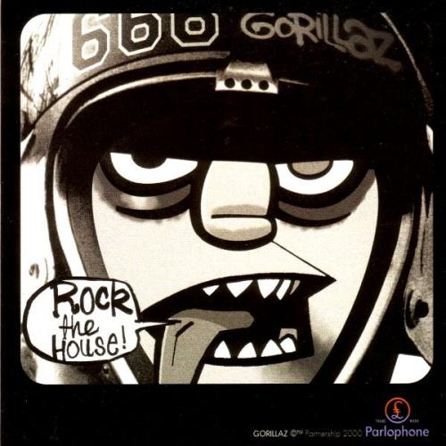 Gorillaz Rock The House - P/S CD-R acetate UK GLZCRRO198424