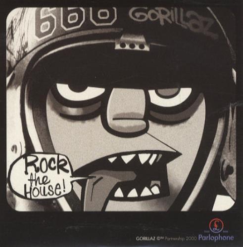 "Gorillaz Rock The House CD single (CD5 / 5"") UK GLZC5RO198910"