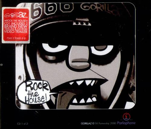 "Gorillaz Rock The House CD single (CD5 / 5"") UK GLZC5RO528139"