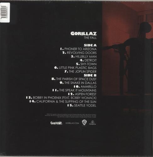 Gorillaz The Fall - RSD19 - Green Vinyl - Sealed vinyl LP album (LP record) UK GLZLPTH718457