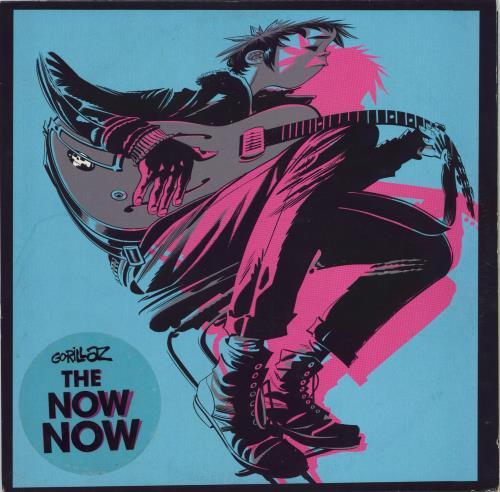 Gorillaz The Now Now vinyl LP album (LP record) UK GLZLPTH770921