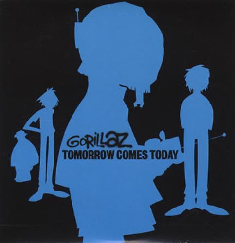 "Gorillaz Tomorrow Comes Today CD single (CD5 / 5"") UK GLZC5TO206526"