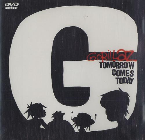 Gorillaz Tomorrow Comes Today DVD Single UK GLZDSTO491377