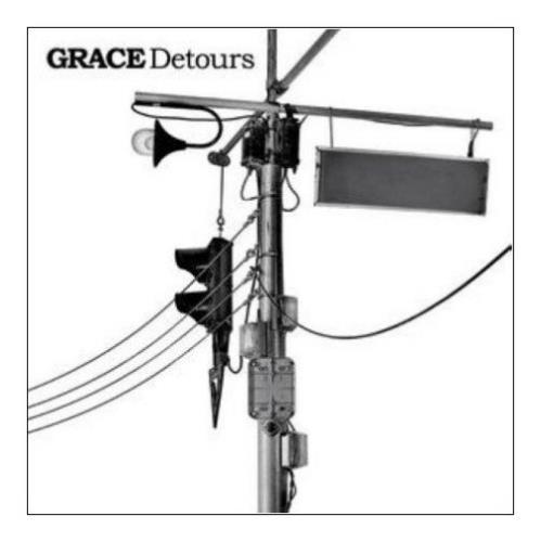 Grace [2007] Detours CD album (CDLP) UK GE6CDDE402137