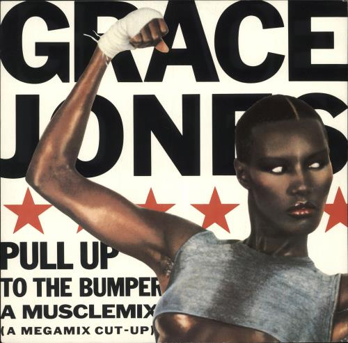 "Grace Jones Musclemix Megamix 12"" vinyl single (12 inch record / Maxi-single) UK GJO12MU19753"