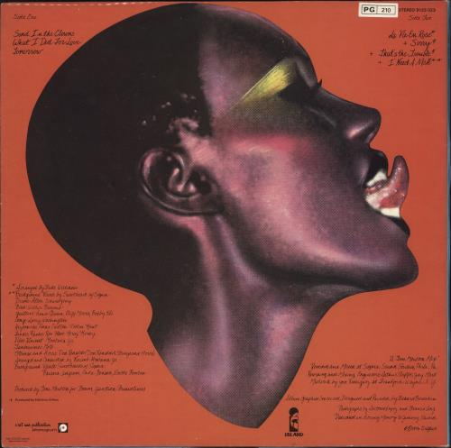 Grace Jones Portfolio vinyl LP album (LP record) French GJOLPPO733156