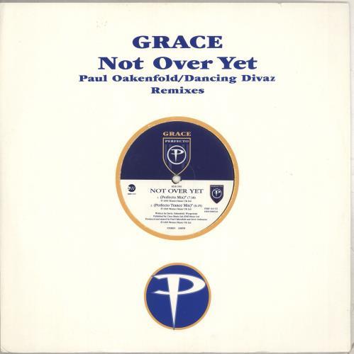 "Grace Not Over Yet 12"" vinyl single (12 inch record / Maxi-single) UK GCE12NO712342"