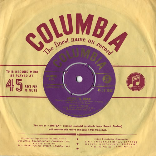 "Gracie Fields Around The World 7"" vinyl single (7 inch record) UK GFE07AR563080"