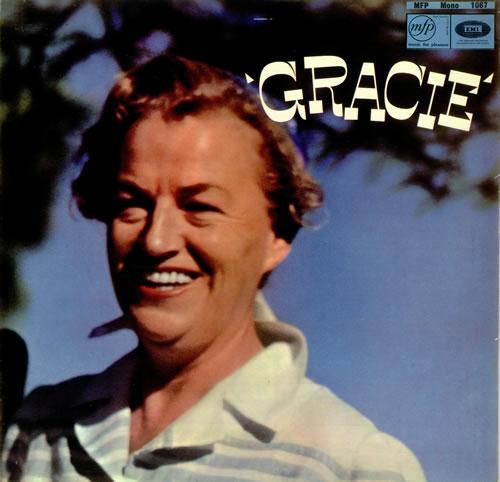 Gracie Fields Gracie vinyl LP album (LP record) UK GFELPGR456616