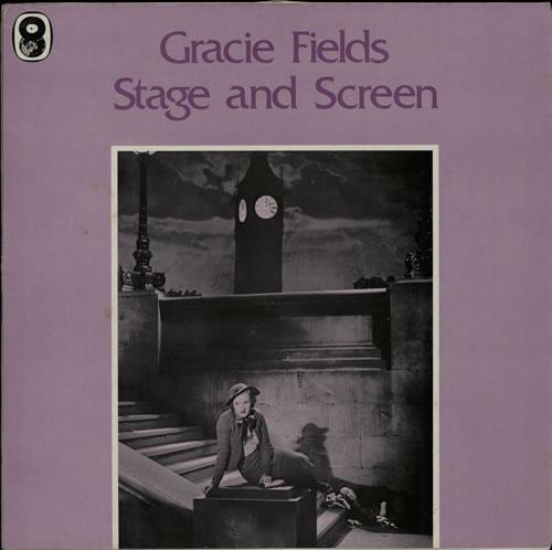 Gracie Fields Stage And Screen vinyl LP album (LP record) UK GFELPST568147