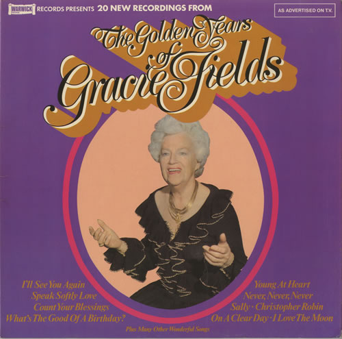 Gracie Fields The Golden Years Of Gracie Fields vinyl LP album (LP record) UK GFELPTH457414