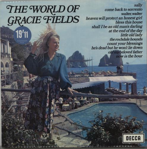 Gracie Fields The World Of Gracie Fields vinyl LP album (LP record) UK GFELPTH665109