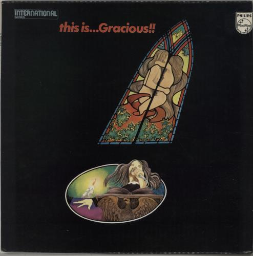 Gracious! This Is... Gracious!! - Dark Blue Label vinyl LP album (LP record) UK US!LPTH670599