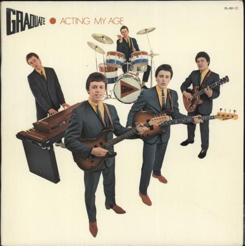 Graduate Acting My Age vinyl LP album (LP record) Spanish GDTLPAC697605