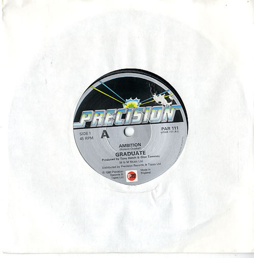 "Graduate Ambition 7"" vinyl single (7 inch record) UK GDT07AM113851"