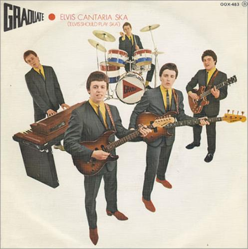 "Graduate Elvis Cantaria Ska - Elvis Should Play Ska 7"" vinyl single (7 inch record) Spanish GDT07EL359914"