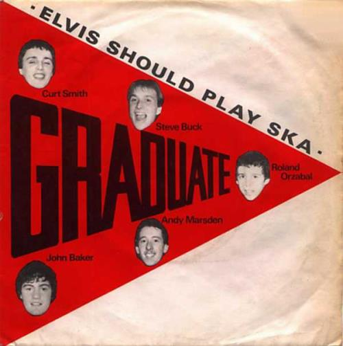"Graduate Elvis Should Play Ska 7"" vinyl single (7 inch record) UK GDT07EL27757"