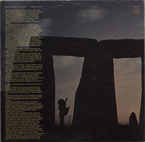 Graham Bond Holy Magick - 1st vinyl LP album (LP record) UK HBDLPHO261084