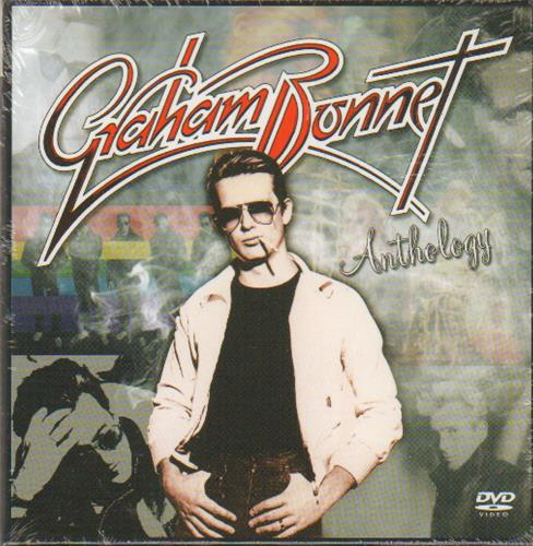 Graham Bonnet Anthology - Sealed Box 3-disc CD/DVD Set UK GBO3DAN673539