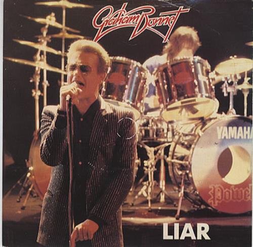 "Graham Bonnet Liar 7"" vinyl single (7 inch record) UK GBO07LI326478"
